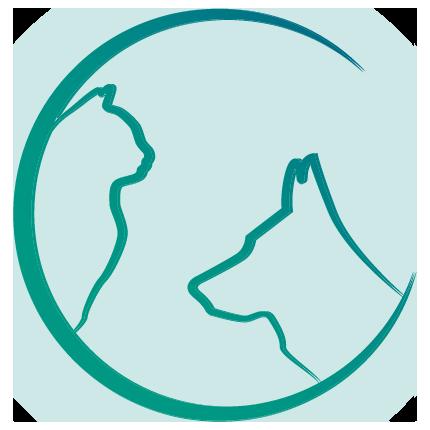 Logo in grün Tierarztpraxis Schönenstein